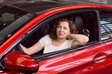 Women in the red car.jpg