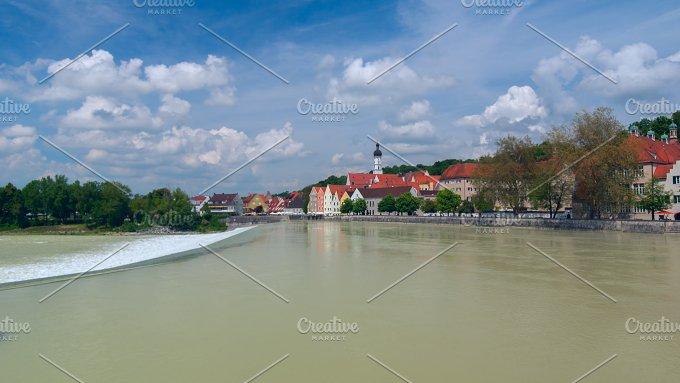 View of city Landsberg am Lech.jpg - Architecture