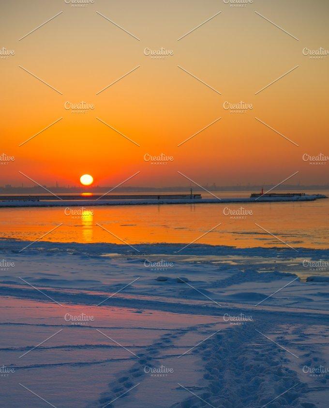 pier at sunset.jpg - Photos