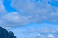 Pier of town Svolvaer on Lofoten islands in sunny day.jpg