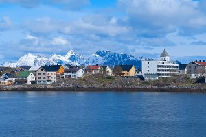 Town Svolvaer on Lofoten islands in sunny summer day.jpg
