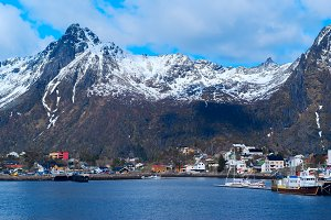Town Svolvaer on Lofoten islands in Norway.jpg