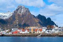 Town Svolvaer on Lofoten islands.jpg