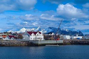 Town Svolvaer on Lofoten islands in sunny day.jpg