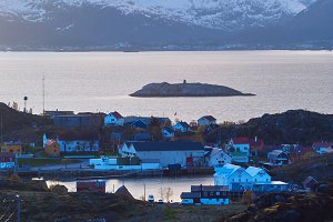 Top view of the Lofoten island Skrova in evening.jpg