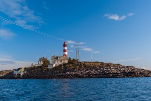 Norwegian lighthouse in summer sunny day.jpg
