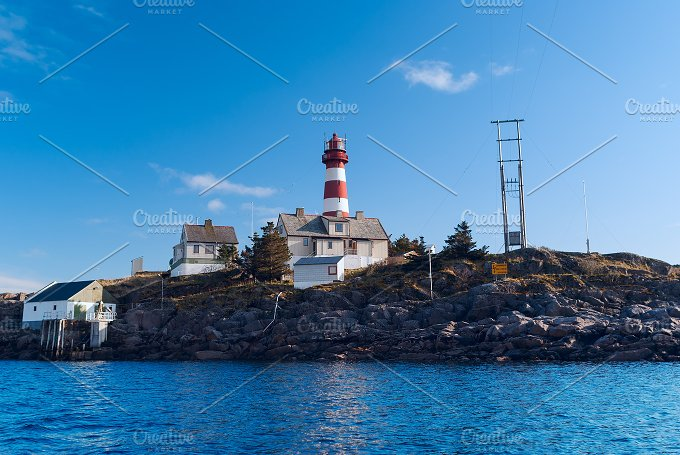 Lighthouse in summer sunny day.jpg - Nature