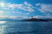 Lighthouse in nort sea in bright sunlight.jpg
