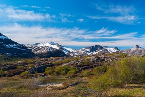 High norwegian mountain pass in sunny summer day.jpg