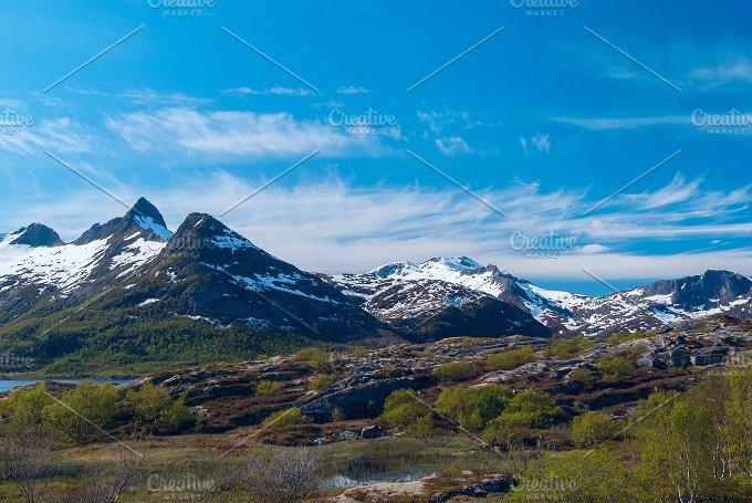 High mountain pass in Norway.jpg - Nature