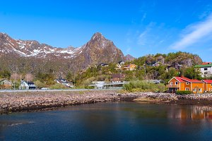 Village on the norwegian island on Lofoten.jpg