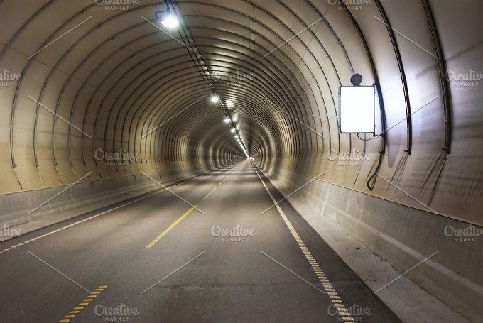 Long road tunnel.jpg - Transportation