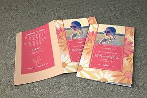 Funeral Program Template - V346