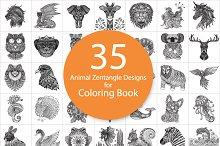 35 unique animal doodles designs