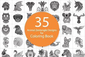 35 unique animal doodles designs