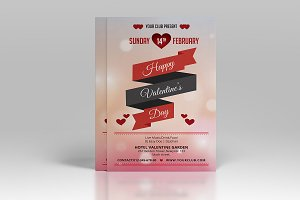 Valentines Day Party Flyer-V177