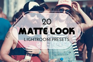 20 Matte Look Lightroom Presets