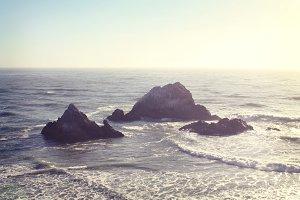 Pacific Ocean Rocks