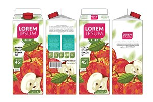 Packaging Design Apple Juice