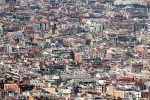 Barcelona Poble sec Aerial view.jpg