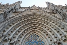 Entered detail main cathedral santa
