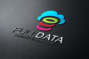 Full Data Cloud Data Logo