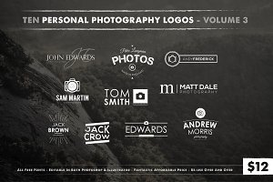 Photography Logos Vol 3