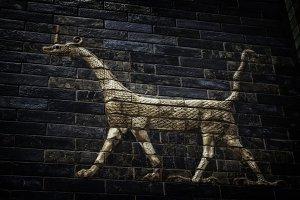 Ancient Babylon dragon