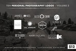 Photography Logos Vol 2
