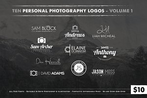 Photography Logos Vol 1
