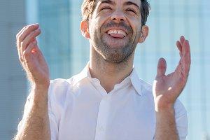 Young Man celebrate winning aplause.jpg