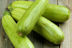 Fresh Raw Zucchini