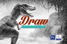 Draw effect | Photoshop action