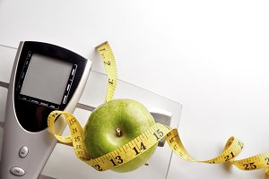 Nutrition weight control scale