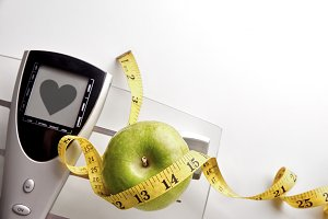 Scale healty heart message apple