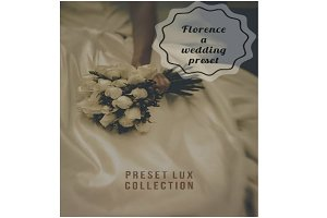 Florence wedding preset