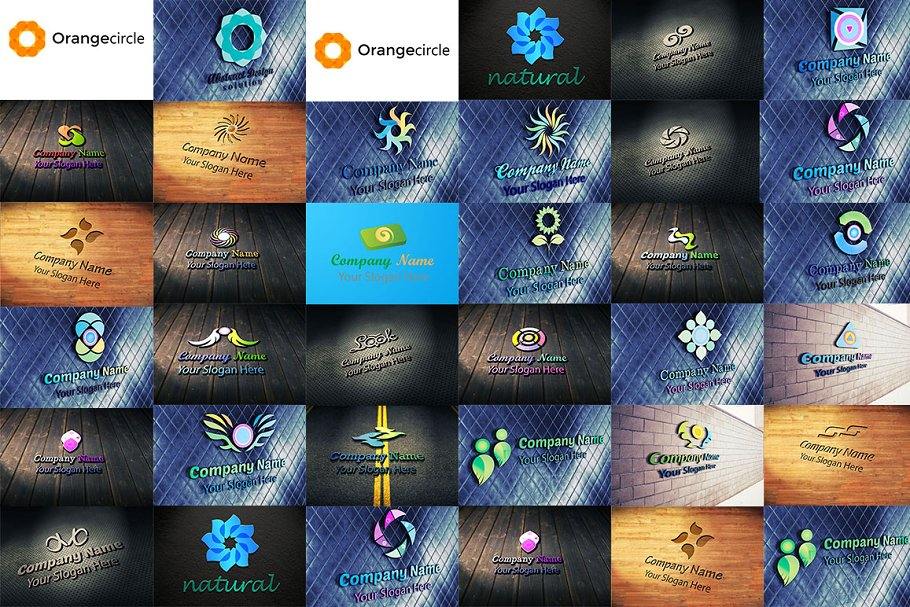 30 Logo Pack 7 in Logo Templates