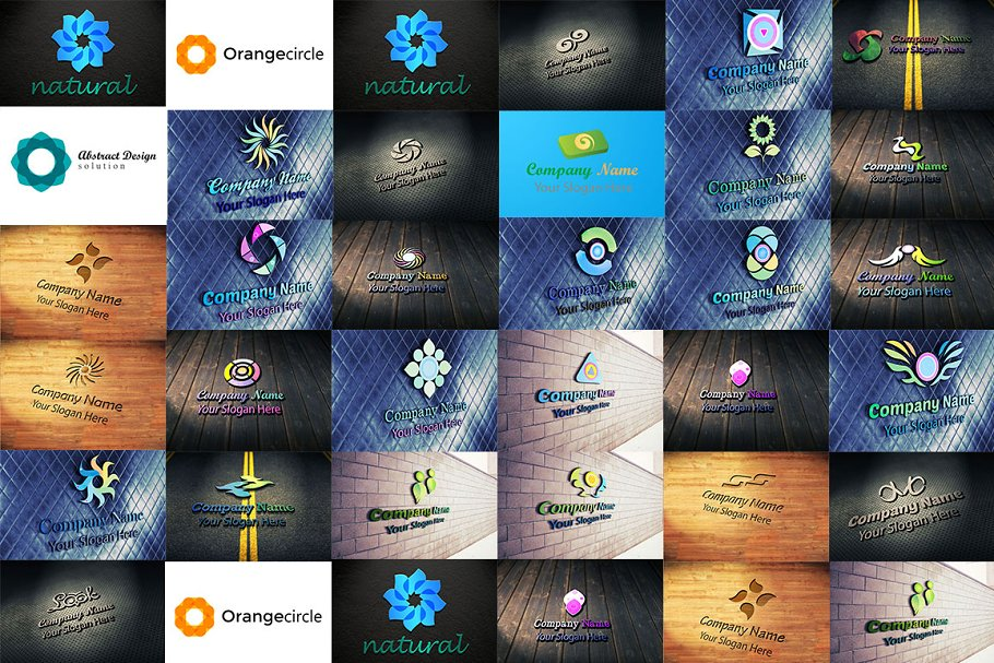 30 Logo Pack 7 in Logo Templates - product preview 2