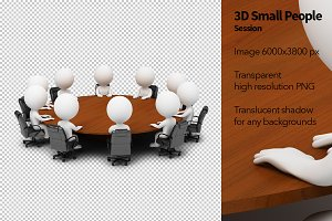 3D Small People - Session