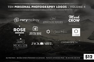 Photography Logos Vol. 4