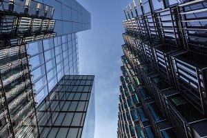 Glass Buildings, London