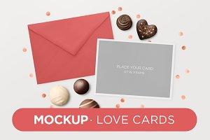 Mockup · Love Cards