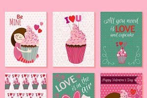 6 Cute St.Valentines Day Cards