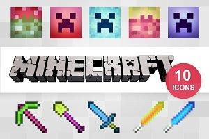 10 Hyper Minecraft Icons
