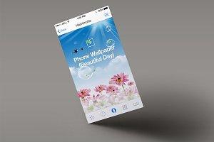Phone Wallpaper (Beautiful Day)
