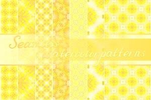 30 yellow seamless textures