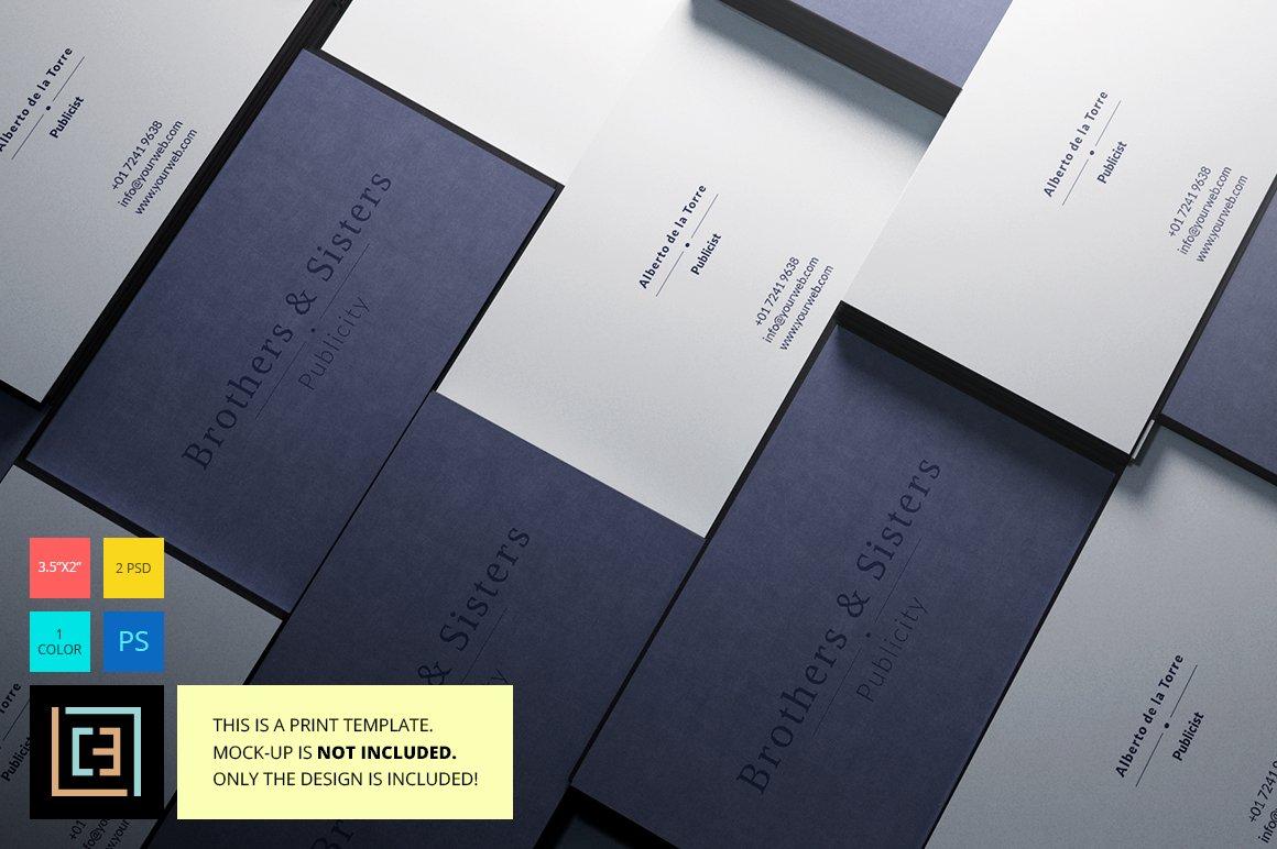 modern business card 4  creative business card templates