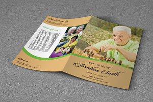 Funeral Program Template - T347