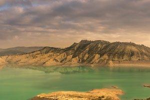 Reservoir of the Rambla de Algeciras