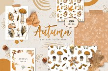 Autumn abstract collection by  in Graphics